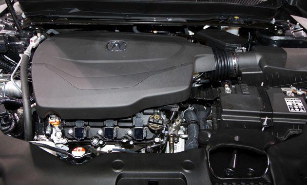 2018 Acura TLX engine 2