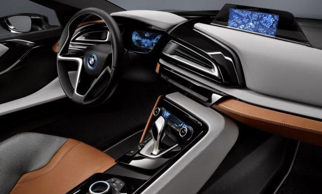 2018 BMW i8 technology
