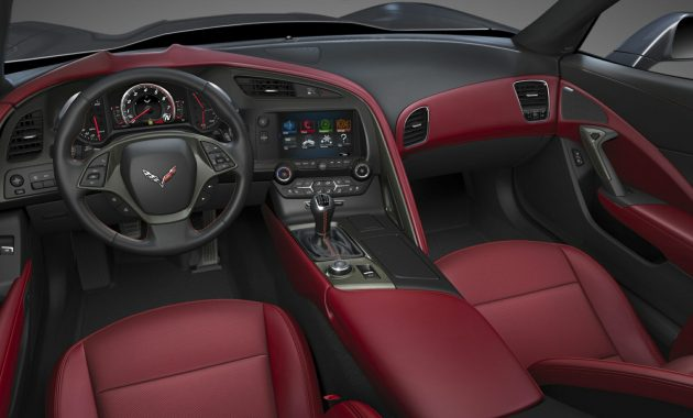 2018 Chevrolet Corvette Stingray interior