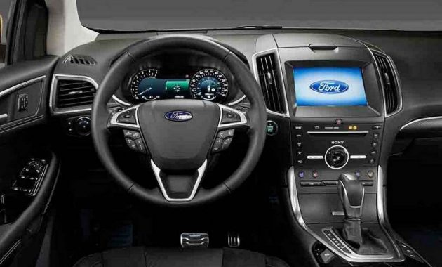 2018 Ford Edge technology