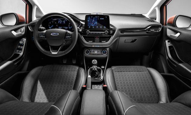 2018 Ford Fiesta Titanium (Euro-spec)