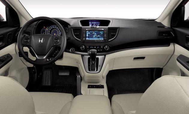 2018 Honda CRV interior