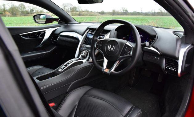 2018 Honda NSX interior