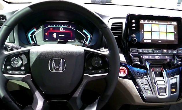 2018 Honda Odyssey technology