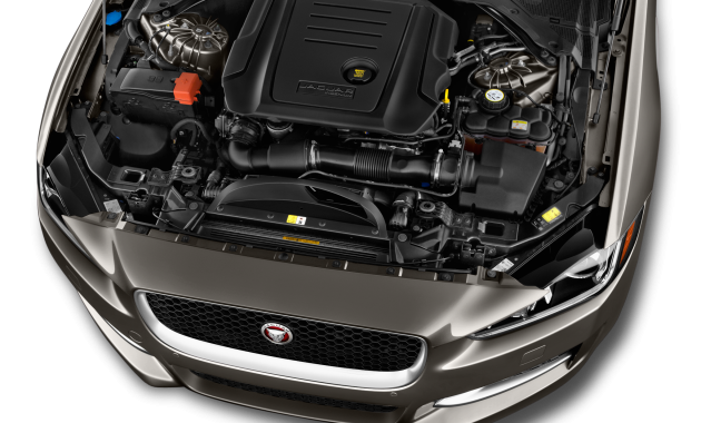 2018 Jaguar XE engine