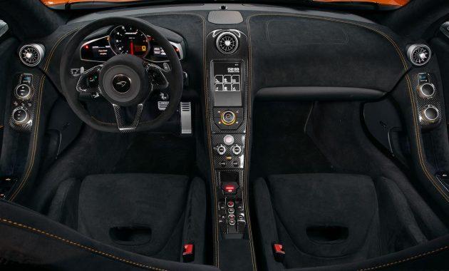 2018 McLaren 650S technology