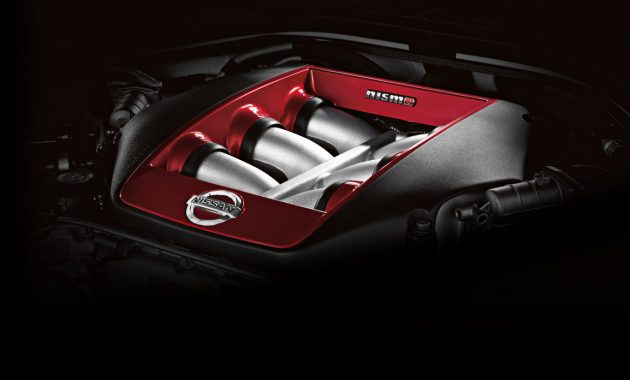 2018 Nissan GT-R Nismo engine