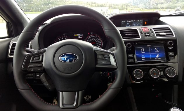 2018 Subaru WRX technology