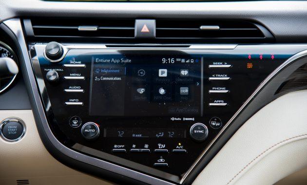 2018 Toyota Camry technology