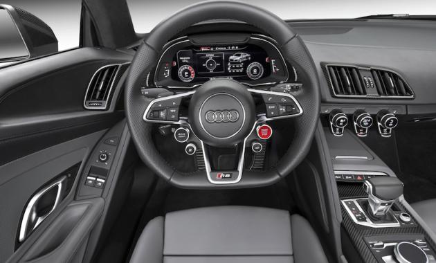 2018 Audi RS8 Interior
