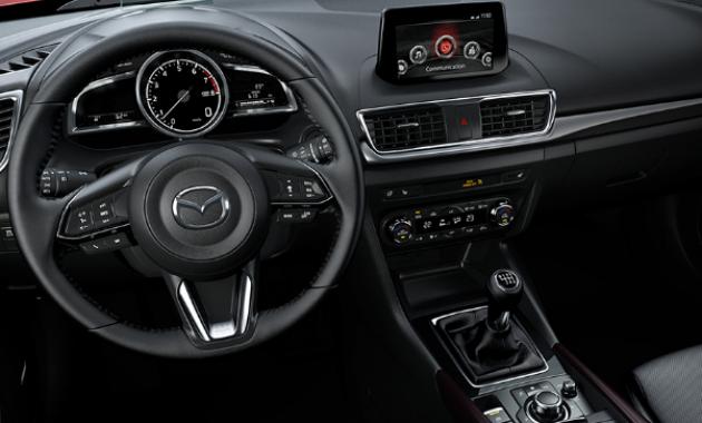 2018 Mazda 3 Hatchback Interior