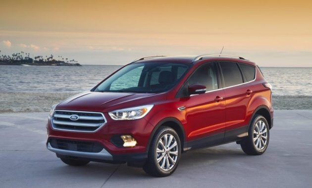 2018 Ford Escape Release Date