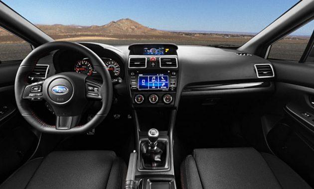 2018 Subaru WRX Interior