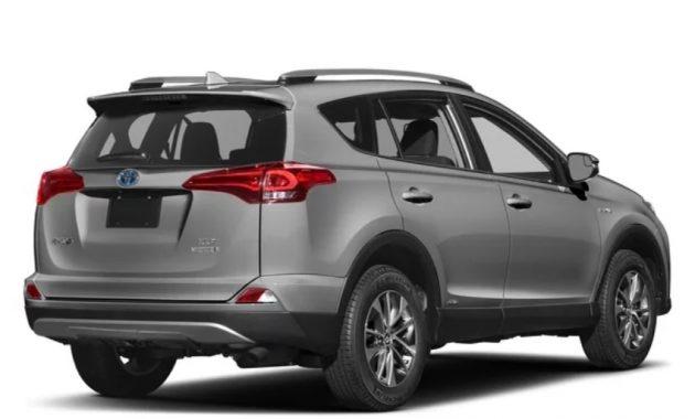 2018 Toyota RAV4 Hybrid Redesign