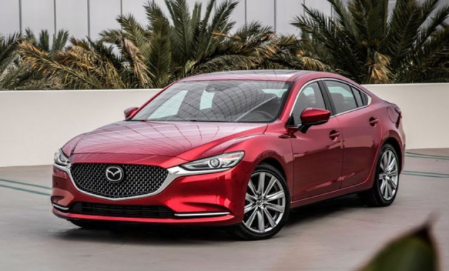 2019 Mazda 6 Design