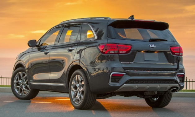 2020 Kia Sorento Design and Exterior