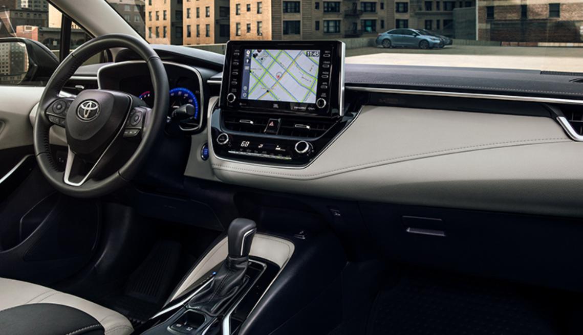 2022 Toyota Corolla Interior