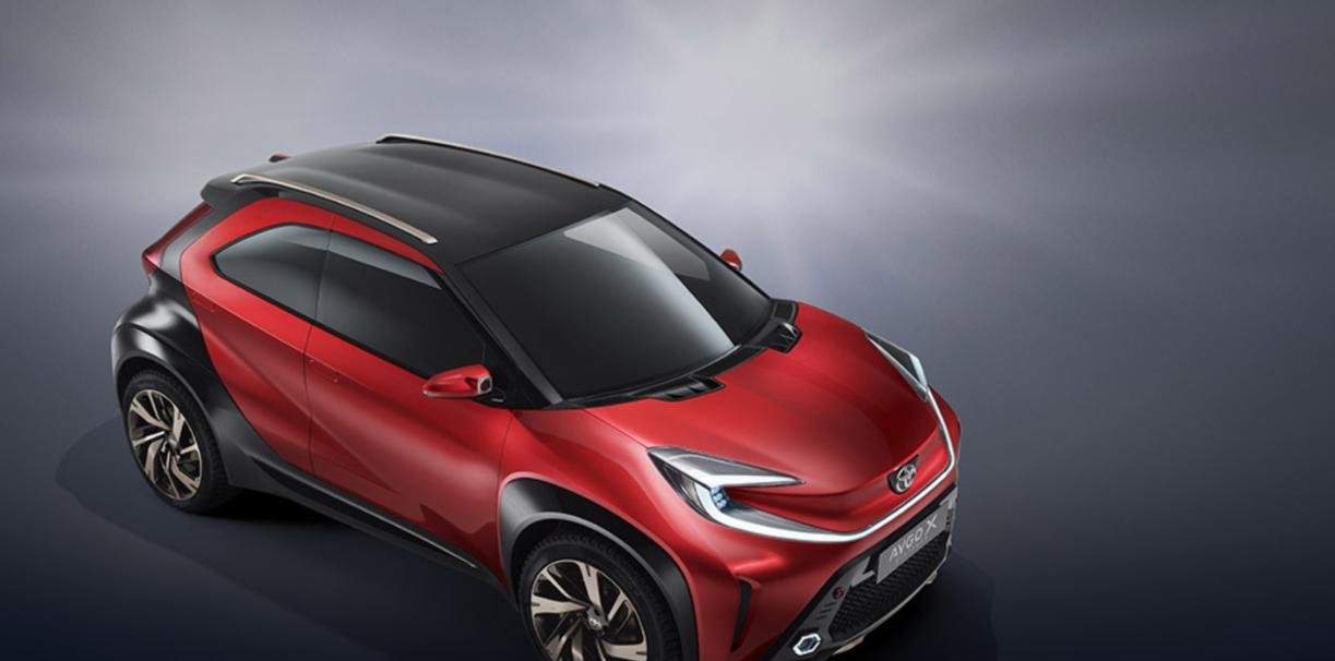 2022 Toyota Aygo Hybrid Redesign